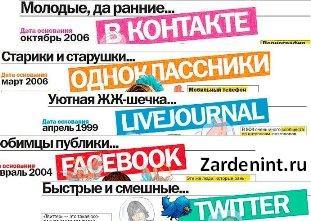 Зарегистрироваться в социальных сетях