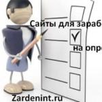 Сайты для заработка на опросах