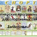 Партнерские программы для Спортивных сайтов