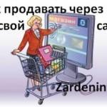 Как продавать через свой сайт