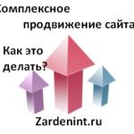 Комплексное продвижение сайта
